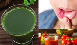 Đây là những thực phẩm quen thuộc chữa nóng trong, nhiệt miệng sau Tết cực nhanh và an toàn