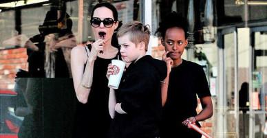 Con gái Shiloh nhà Angelina Jolie ngày càng cao lớn và điển trai
