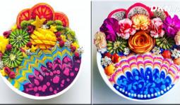 Những bát smoothie hoa quả đẹp như tranh vẽ: Nghệ thuật không chỉ đến từ đôi tay