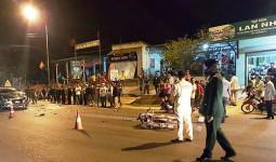 Một người tử vong sau va chạm giao thông, nghi là người Lào