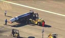 Rò rỉ hình ảnh tên lửa bí mật của Mỹ