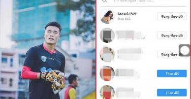 Đây là mỹ nhân Việt tiếp theo lọt vào tầm ngắm của thủ môn Bùi Tiến Dũng