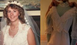 Mở hộp váy cưới của mẹ từ 32 năm trước, cô gái phát hiện điều sai trái nhưng không ngờ MXH đã giải quyết tất cả