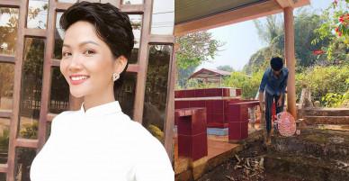 Hành động đẹp Hoa hậu H'Hen Niê đầu năm mới Mậu Tuất được lòng fan