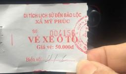 Đền Trần (Nam Định): Không gửi xe vẫn phải trả phí kiểu chặt chém