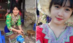 Nhan sắc đời thường của thiếu nữ bán cơm lam, trứng gà nướng khiến dân tình đòi link bằng được