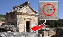 Bí ẩn về cổng địa ngục đến gần là chết của đền cổ ở Thổ Nhĩ Kỳ
