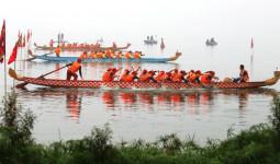400 người đua thuyền rồng ở hồ Tây - VnExpress