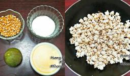 [Chế biến] – Cuối tuần làm bắp rang bơ thơm phức ăn chơi