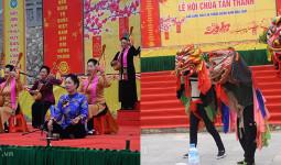 Chùa biên giới xứ Lạng hút khách hành hương trong ngày khai hội