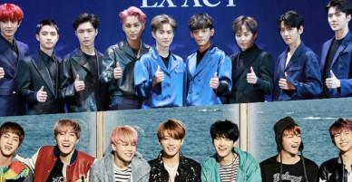 Bế mạc Olympic: Fan tranh cãi khi EXO biểu diễn thay vì BTS