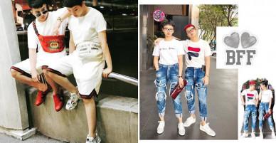 Những lần diện đồ đôi của cặp bạn thân Miu Lê – Duy Khánh