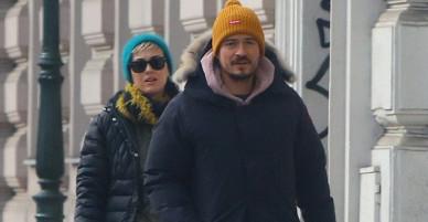 Thêm một cặp đôi yêu lại từ đầu: Katy Perry và Orlando Bloom công khai tái hợp trên phố
