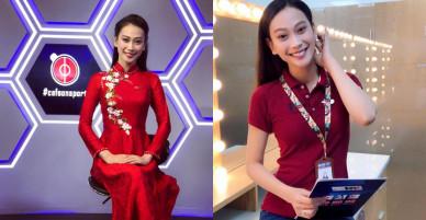 """Dàn Hoa hậu, Á hậu xinh đẹp """"đầu quân"""" làm MC cho VTV gây thương nhớ"""