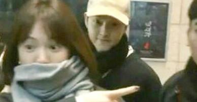 Vợ chồng Song Hye Kyo hẹn hò đi xem kịch