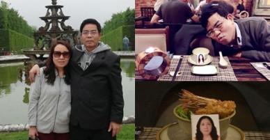 Người đàn ông 3 năm kỷ niệm ngày cưới với di ảnh vợ quá cố