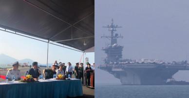 Tàu sân bay Mỹ thăm Việt Nam: Sự ủng hộ của Mỹ cho một Việt Nam vững mạnh và thịnh vượng!