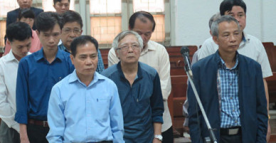 Bị cáo trong vụ vỡ đường ống nước sông Đà đồng loạt kêu oan