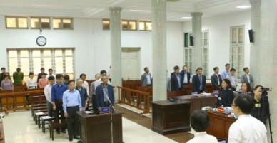 Xét xử vụ vỡ đường ống nước sông Đà: Viện Kiểm sát đề nghị mức án với 9 bị cáo