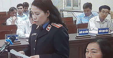 Cựu giám đốc dự án nước sông Đà bị đề nghị phạt 36-42 tháng tù