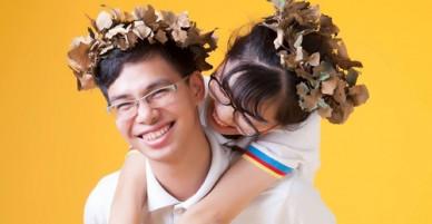 Cặp thí sinh Đường lên đỉnh Olympia cầu hôn bằng vòng Nguyệt quế