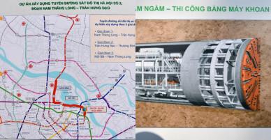 Hà Nội trưng bày phối cảnh ga tàu điện ngầm cạnh hồ Gươm