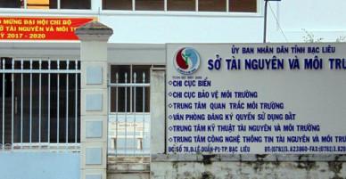 Hoãn xét xử vụ 3 cán bộ Sở TNMT Bạc Liêu chiếm đoạt tài sản