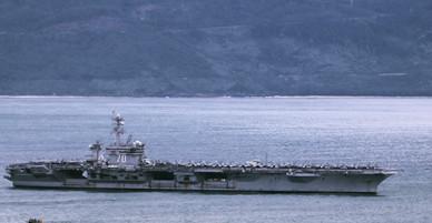 Tàu sân bay Mỹ kết thúc chuyến thăm tới Việt Nam