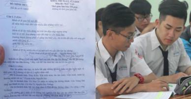 Thi học sinh giỏi khối 12 TP.HCM: Đề hay, đậm chất văn