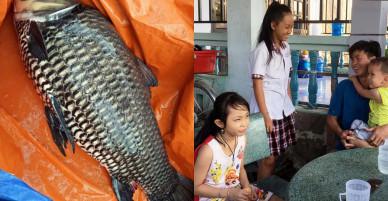 """Ngư dân Sài Gòn 2 lần bắt cá """"khủng"""" bán hàng trăm triệu giờ ra sao?"""