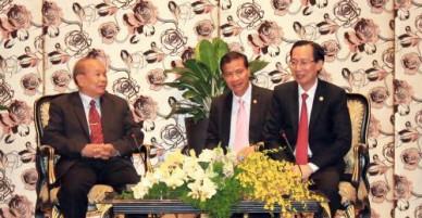 Lãnh đạo TP Hồ Chí Minh tiếp Bộ trưởng Bộ Lễ nghi và Tôn giáo Campuchia