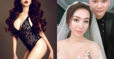 Giật mình trước nhan sắc siêu nóng bỏng của vợ sắp cưới Khắc Việt