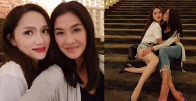 Cuối cùng Hương Giang và chị đại Lukkade cũng có kiểu ảnh chung với nhau rồi đây!