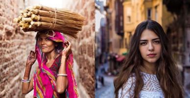 Bỏ 5 năm đi vòng quanh thế giới, nhiếp ảnh gia đã cho ra đời bản đồ sắc đẹp phụ nữ khiến người xem ngỡ ngàng