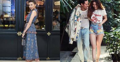 Mặc đồ jean dạo phố đẹp như sao Việt