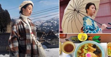 Chuyến đi Nhật trải nghiệm chưa từng có của Quỳnh Anh Shyn