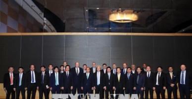 Thủ tướng Nguyễn Xuân Phúc gặp mặt các tập đoàn, nhà đầu tư Việt Nam - Australia