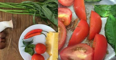 [Chế biến] – Đầu tháng nấu bún Thái chay tuyệt ngon mời cả nhà