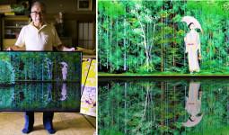 Cụ ông 77 tuổi người Nhật dành 15 năm để hoàn thiện nghệ thuật vẽ tranh bằng … Excel