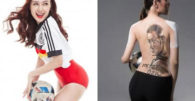 Nhan sắc hot girl Việt hâm mộ Arsenal
