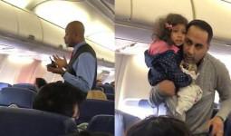 Vì con gái sợ bay và muốn ngồi trên đùi bố một lúc, 2 bố con bị tiếp viên hàng không đuổi khỏi máy bay