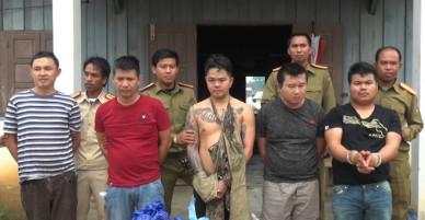 5 nghi phạm Lào bị bắt khi đưa 50.000 viên ma túy vào Việt Nam - VnExpress