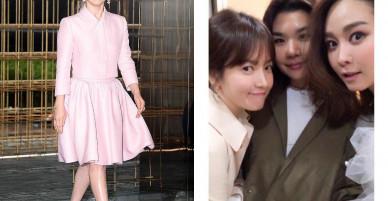 Lấy Song Joong Ki, Song Hye Kye được khen ngày càng trẻ đẹp dù tăng cân đáng kể