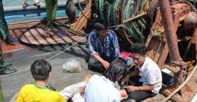 Chủ tàu cá trói 4 ngư dân vì sợ trốn nợ