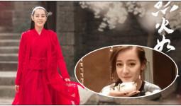Chậm trend một chút, Địch Lệ Nhiệt Ba vẫn khiến netizen phát cuồng vì quá dễ thương và xinh xuất sắc
