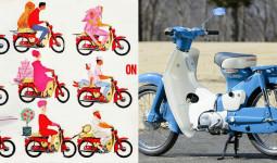 """Honda Super Cub """"hóa"""" huyền thoại nhờ điều bất ngờ này"""