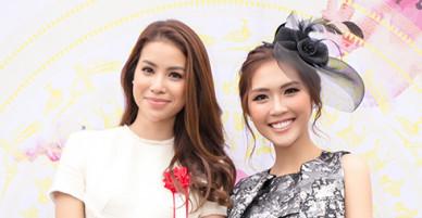 Hoa hậu Phạm Hương, Tường Linh đọ sắc trong sự kiện