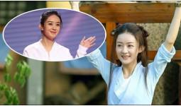 Fan ăn mừng vì Triệu Lệ Dĩnh béo lên sau thời gian dài ốm tong teo vì quay Sở Kiều Truyện