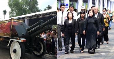 Linh cữu nguyên Thủ tướng Phan Văn Khải về tới quê nhà