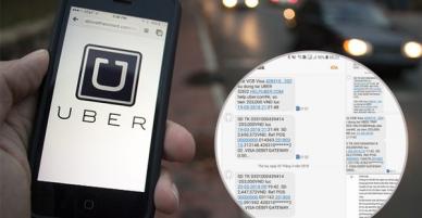 Đi 1 cuốc xe bị trừ tiền hơn chục lần, Đại diện Uber lên tiếng: Lỗi từ ngân hàng Vietcombank